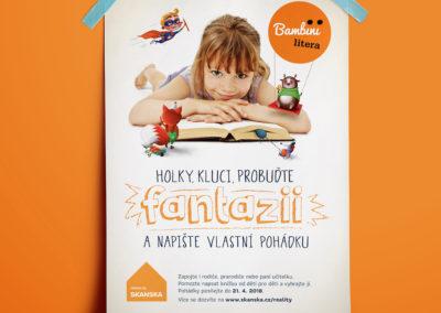 skanska_bambini litera poster